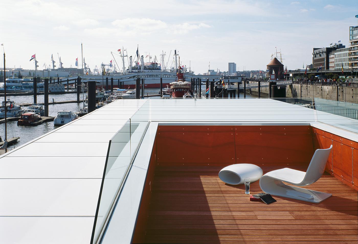 floating homes, Hamburg –